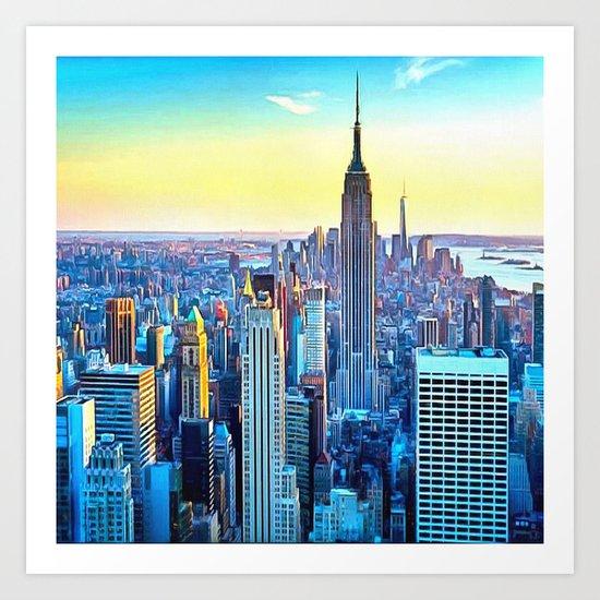 Great City Art Print
