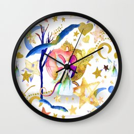 Starry Nights Wall Clock
