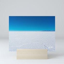 Salt Flats, Salar de Uyuni, Bolivia Mini Art Print