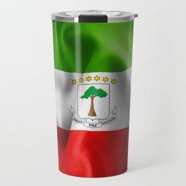 Equatorial Guinea Flag Travel Mug