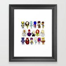 X MEN GROUP Framed Art Print