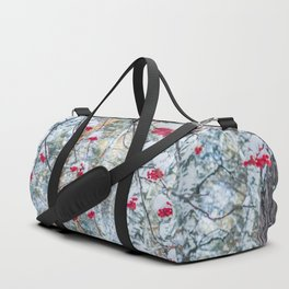 Winter Rowan and birchs Duffle Bag