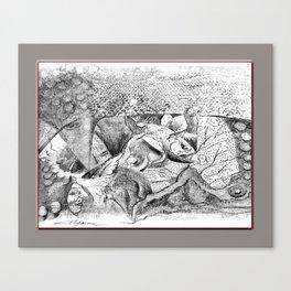 Snake Tippy Canvas Print