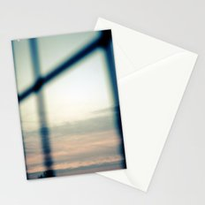 Good morning, moon Stationery Cards