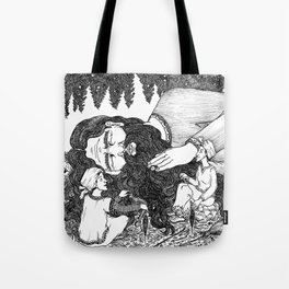 Stealing Giant's hair Tote Bag