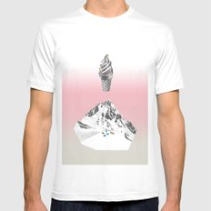 Domestic landscape Mens Fitted Tee White MEDIUM