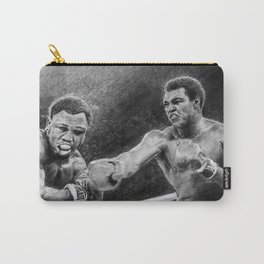 Thrilla in Manilla Pencil Drawing Carry-All Pouch
