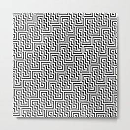 Op Art 150 Metal Print