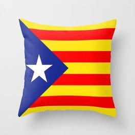 Bandera estelada Throw Pillow