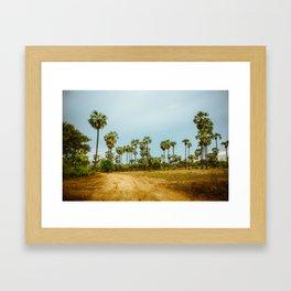 Burma's Country Roads I Framed Art Print