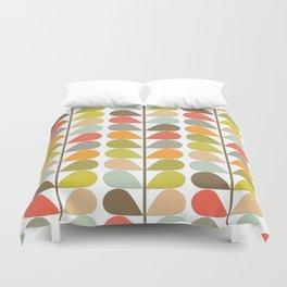 Retro Mid Century Modern Pattern Duvet Cover
