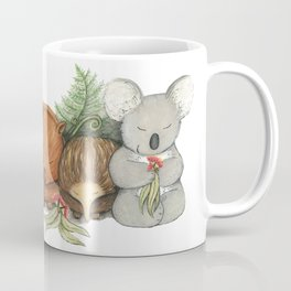 Native Australian Animal Babies – With Koala, Wombat And Echidna Coffee Mug