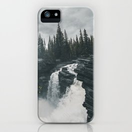 Athabasca Falls Alberta iPhone Case
