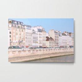 Bright Paris Metal Print