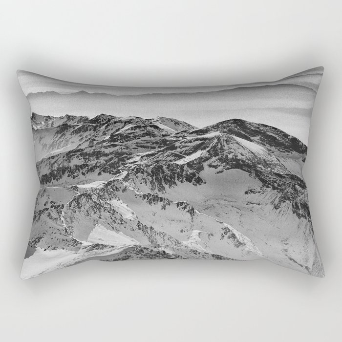 """Flying over wild mountains"" Rectangular Pillow"