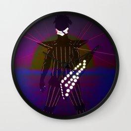 POS LASER1 Wall Clock