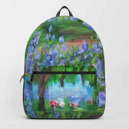 Monet's Garden AC20110715a Backpack