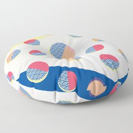 Japanese Patterns 01 Floor Pillow