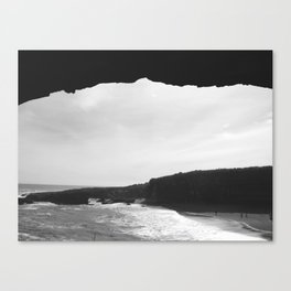 Caved In Canvas Print