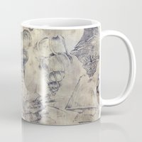 shells Mugs featuring Shells  by Laura Braisher