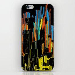 strippy city iPhone Skin