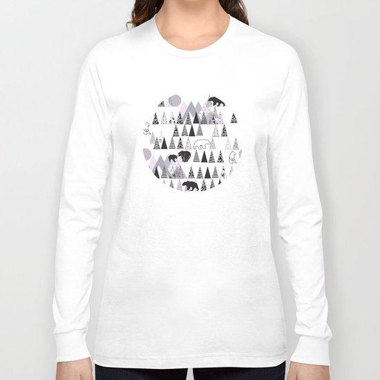 Mountain Bears No. 1 Long Sleeve T-shirt