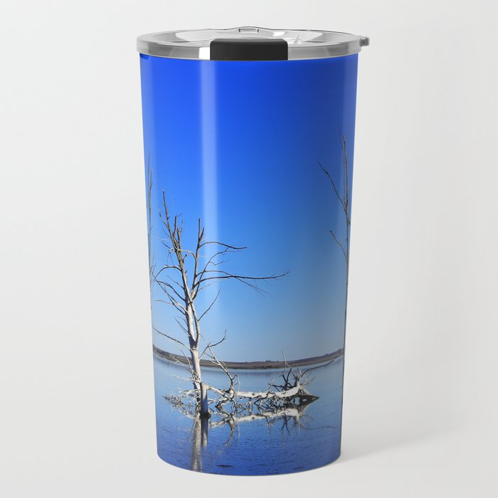 Tree into the water PHOTOGRAPHY Travel Mug