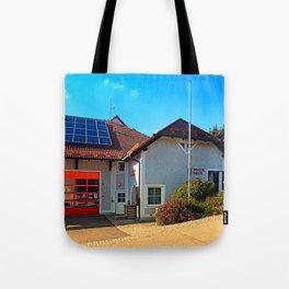 The firestation of Eidenberg Tote Bag