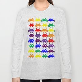 Rainbow Invasion Long Sleeve T-shirt