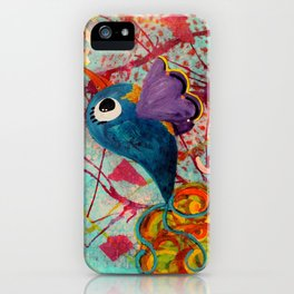 Fancy - Quirky Bird Series iPhone Case