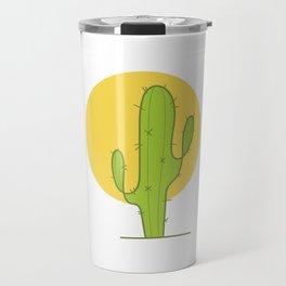 Desert Cactus Travel Mug
