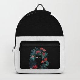 cat black Backpack