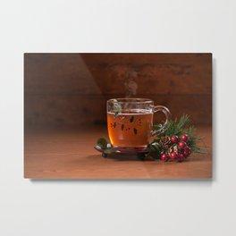 Holiday Tea Metal Print