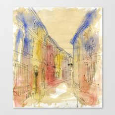 Streets of France Canvas Print