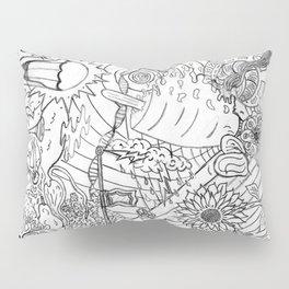 #2 Pencil Doodle (coloring page art) Pillow Sham
