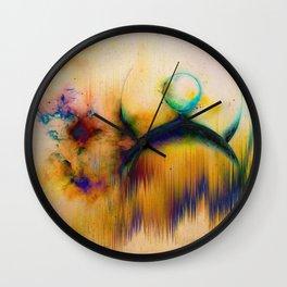 PLANETARY SOUL ALIEN STORM Wall Clock