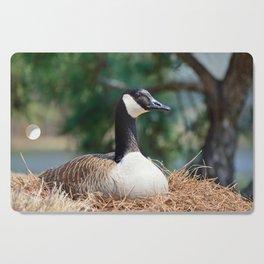 Nesting Canadian Goose Cutting Board