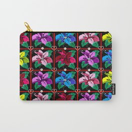FLORAL  FANTASTICA Carry-All Pouch