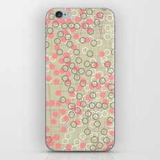 Dots and Rings-Neutral iPhone & iPod Skin