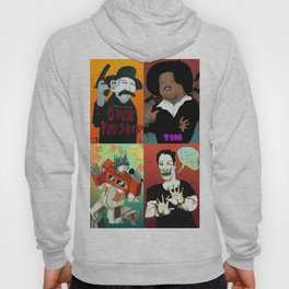 Pop mix of the some of the greats pop culture memories.  Hoody