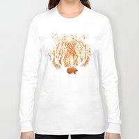 hunter Long Sleeve T-shirts featuring Hidden Hunter by carbine
