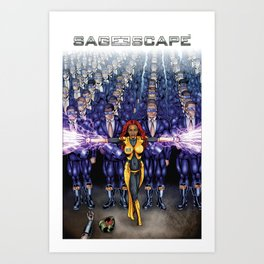 Sage Escape - Equinox Art Print
