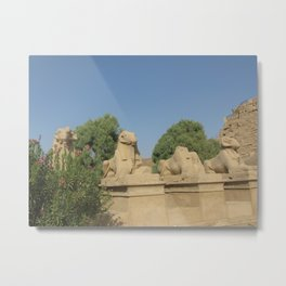 The Avenue of Sphinxes Metal Print