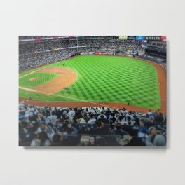 Savages in the Bronx (2019 ALDS Game 2 vs. Twins) Metal Print