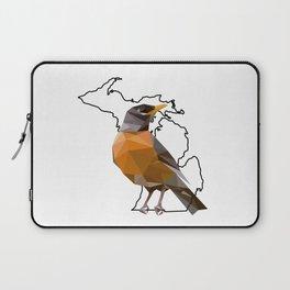 Michigan – American Robin Laptop Sleeve