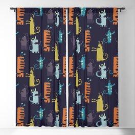 Secretly Vegetarian Monsters Blackout Curtain