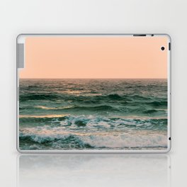 Pink Skies Ocean Vibes Laptop & iPad Skin