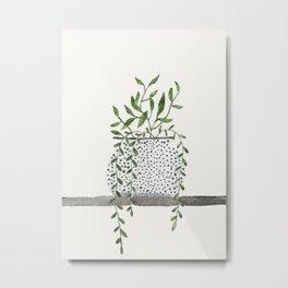 Vase 2 Metal Print