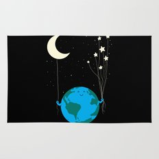Under the moon and stars Rug