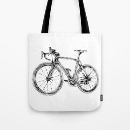 Wooden Bicycle Tote Bag